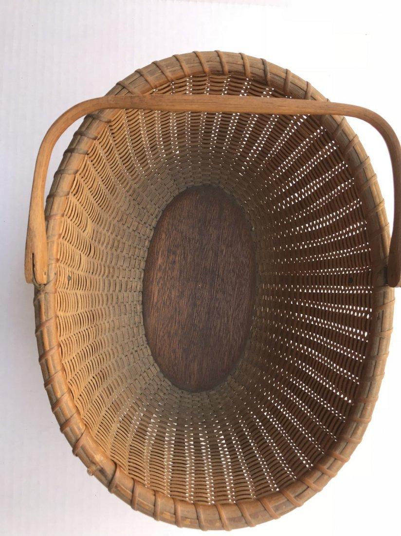 Oval Nantucket Basket - 4