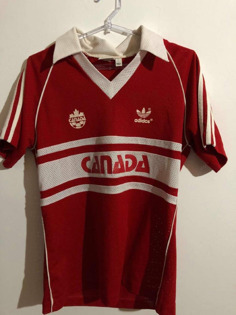 Canada #4 Olympic Games Worn Jersey 1984