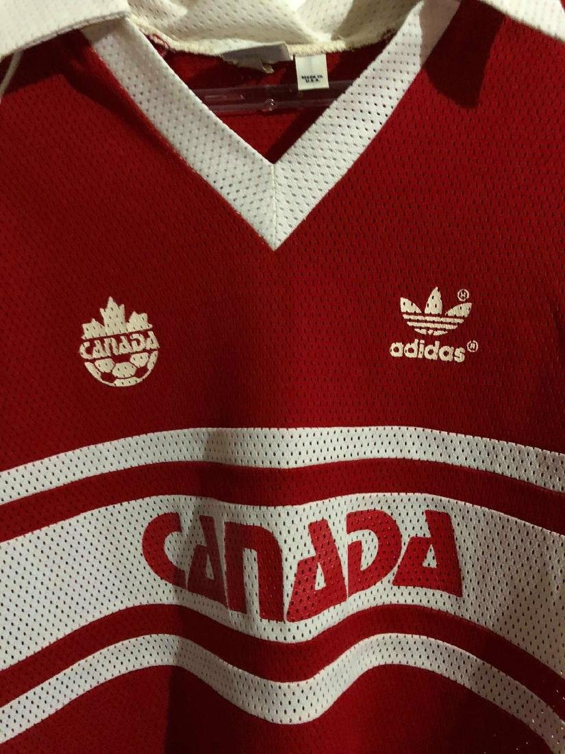 Canada #4 Olympic Games Worn Jersey 1984 - 3