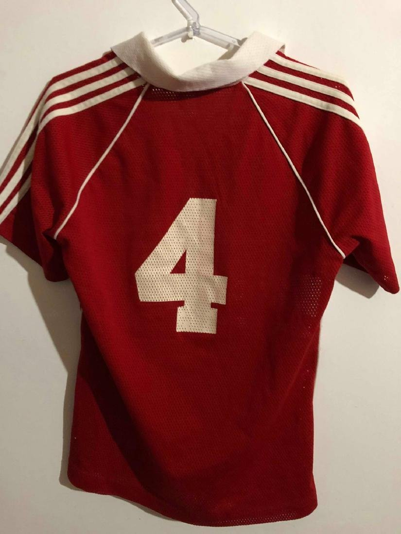 Canada #4 Olympic Games Worn Jersey 1984 - 4