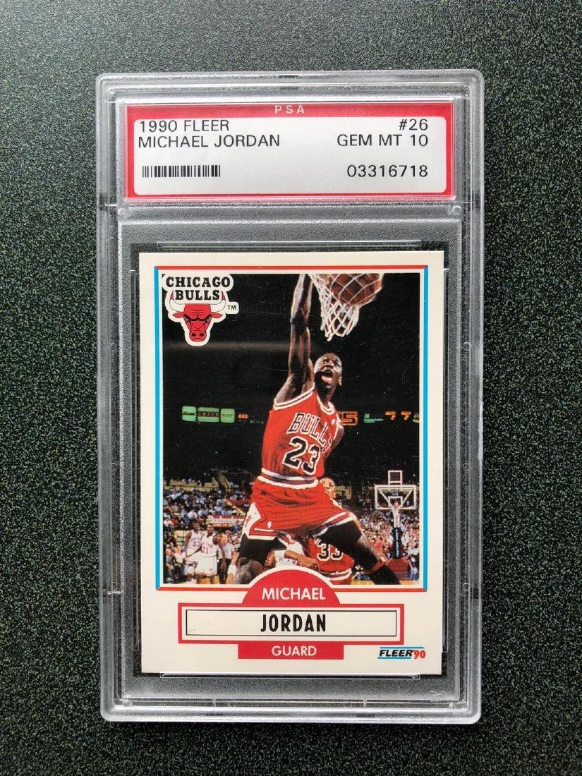 1990 Fleer Michael Jordan #26 PSA GEM 10