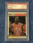 1987 Fleer Michael Jordan #59 PSA Mint 9