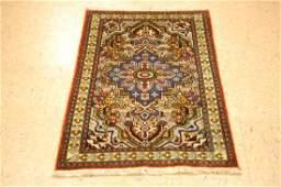 Antique Caucasian Kazak shirvan Design Rug 2.3x3.8