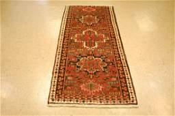 Antique Persian Heriz Runner Rug 2.9x6.9