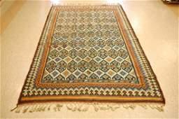 Antique Caucasian Shirvan Kilim Rug 5.2x8.7