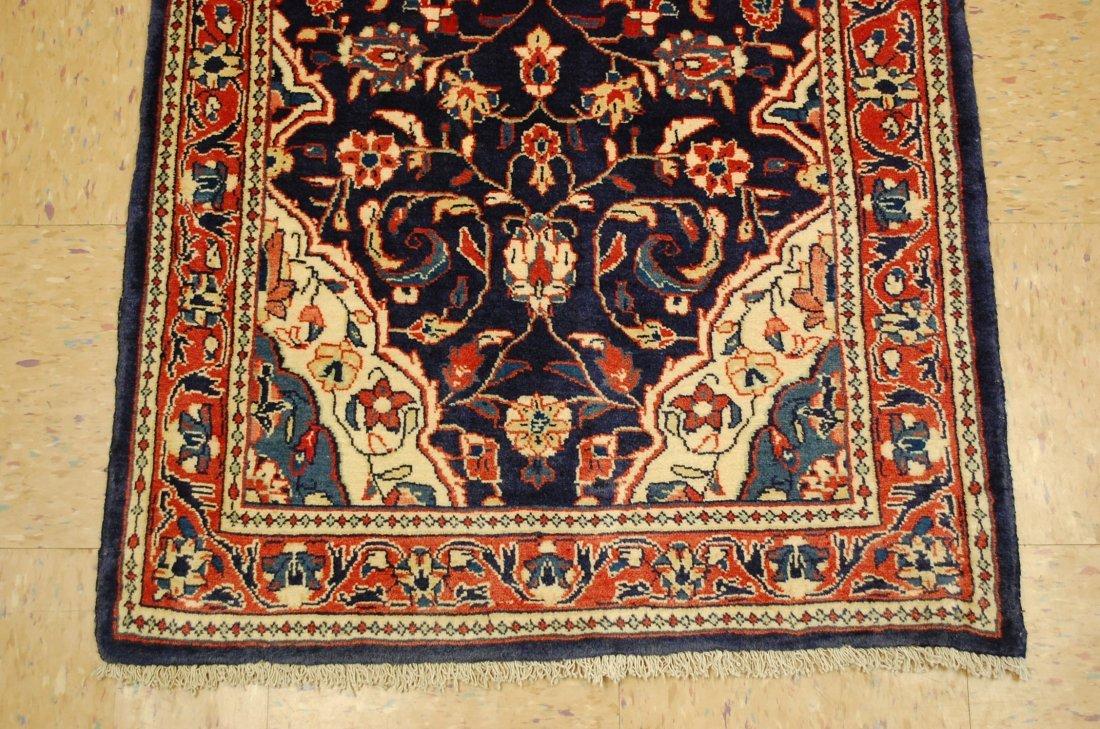 Antique Detailed Fine Persian Sarouk Rug 2.7x14.2 - 2