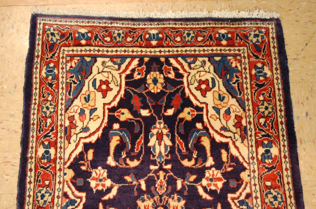 Antique Detailed Fine Persian Sarouk Rug 2.7x14.2 - 3