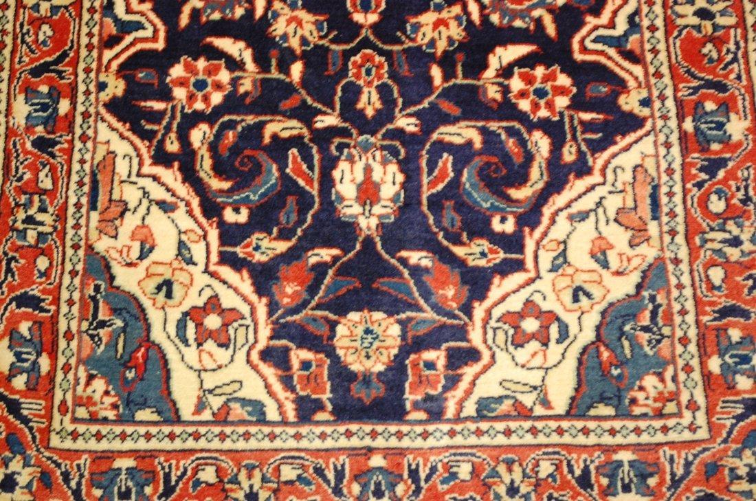 Antique Detailed Fine Persian Sarouk Rug 2.7x14.2 - 4