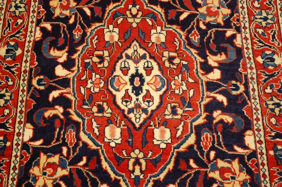 Antique Detailed Fine Persian Sarouk Rug 2.7x14.2 - 6