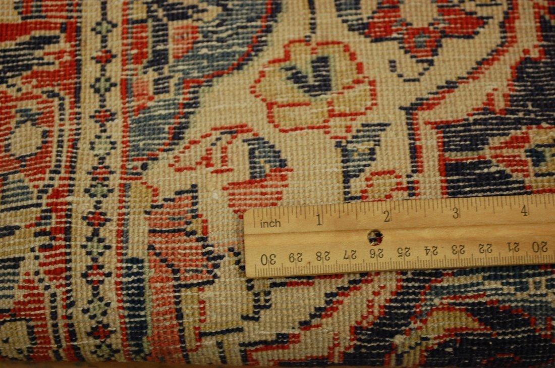 Antique Detailed Fine Persian Sarouk Rug 2.7x14.2 - 8