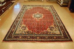 Antique Fine Kork Wool Persian Bijar Rug 7.5x11