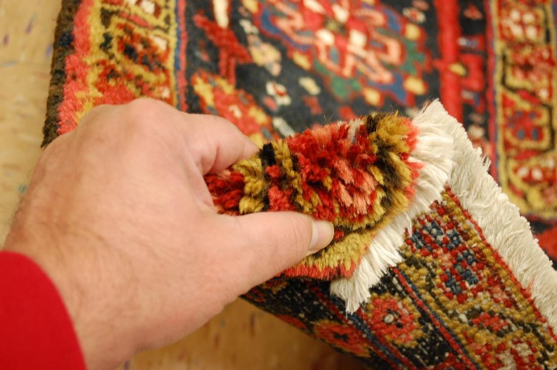 Antique Fine Persian Heriz Serapi Rug 10x14 - 10