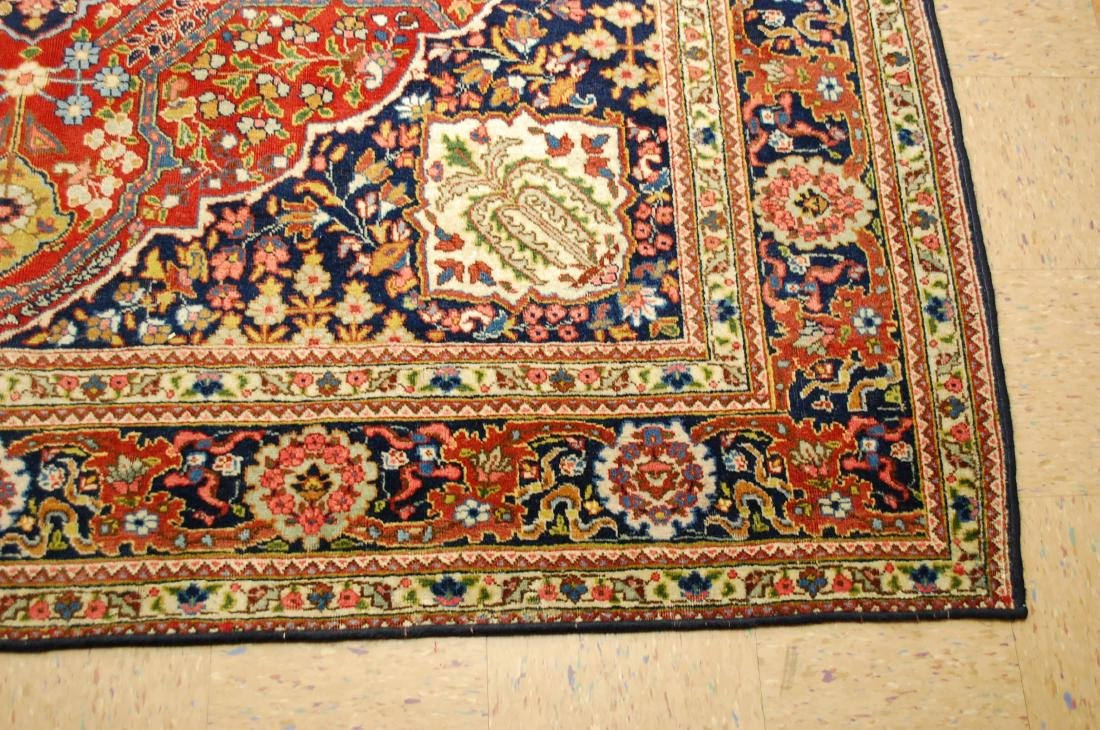 Antique Ferahan Design Persian Tabriz Rug 8.3x11.8 - 3