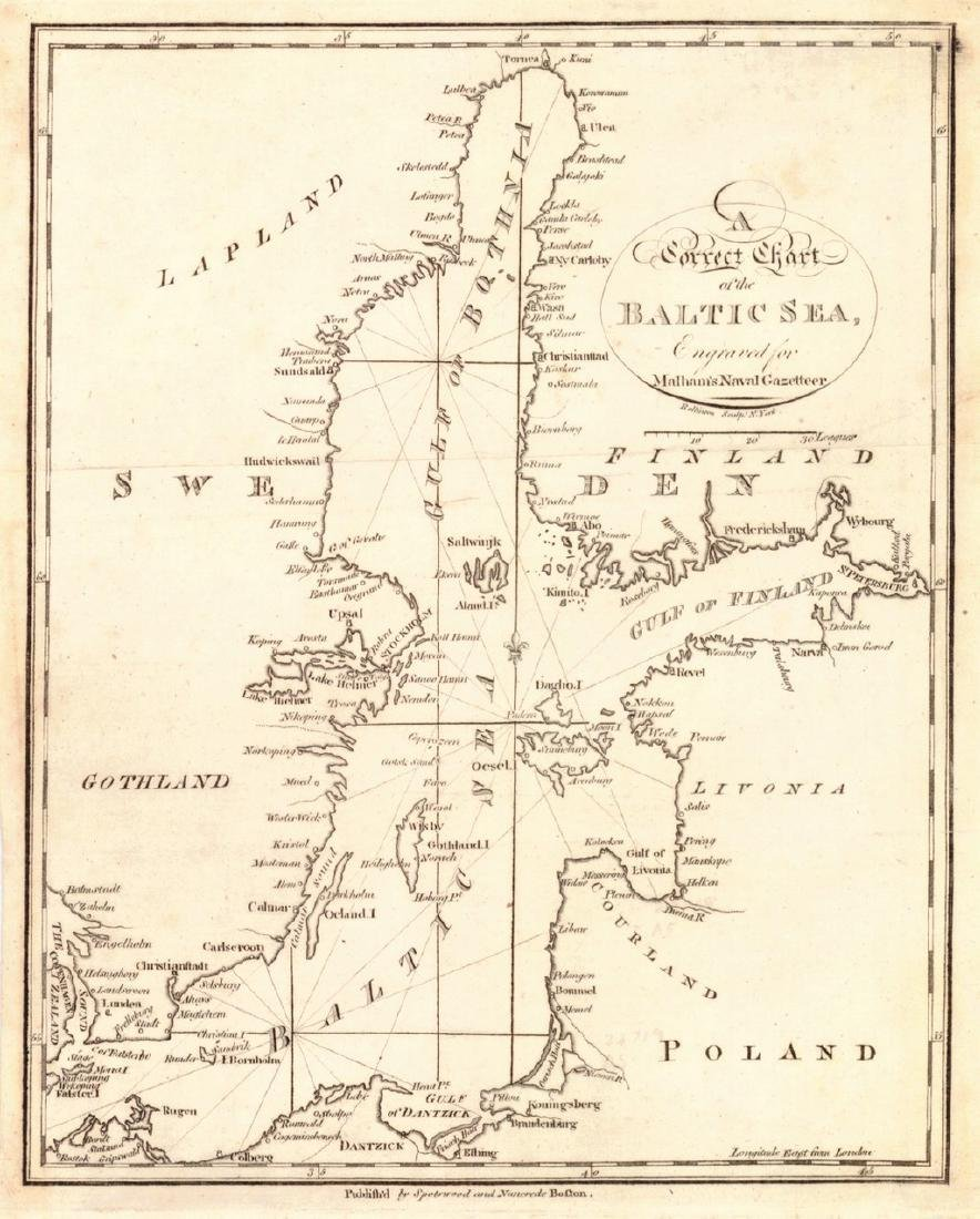 Correct Chart of the Baltic Sea,