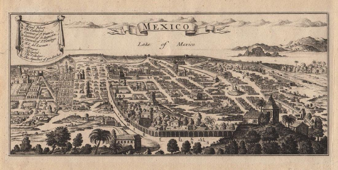 Popple: Colonial Mexico City
