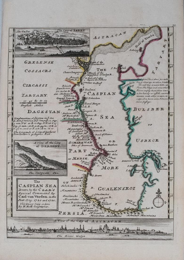 The Caspian Sea Drawn by the Czar's Special Command by