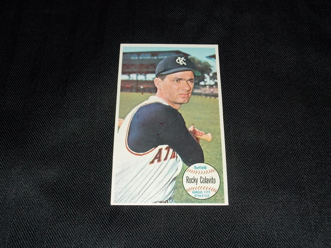 1964 Topps GIANTS Baseball Card, ROCKY COLAVITO, Kansas