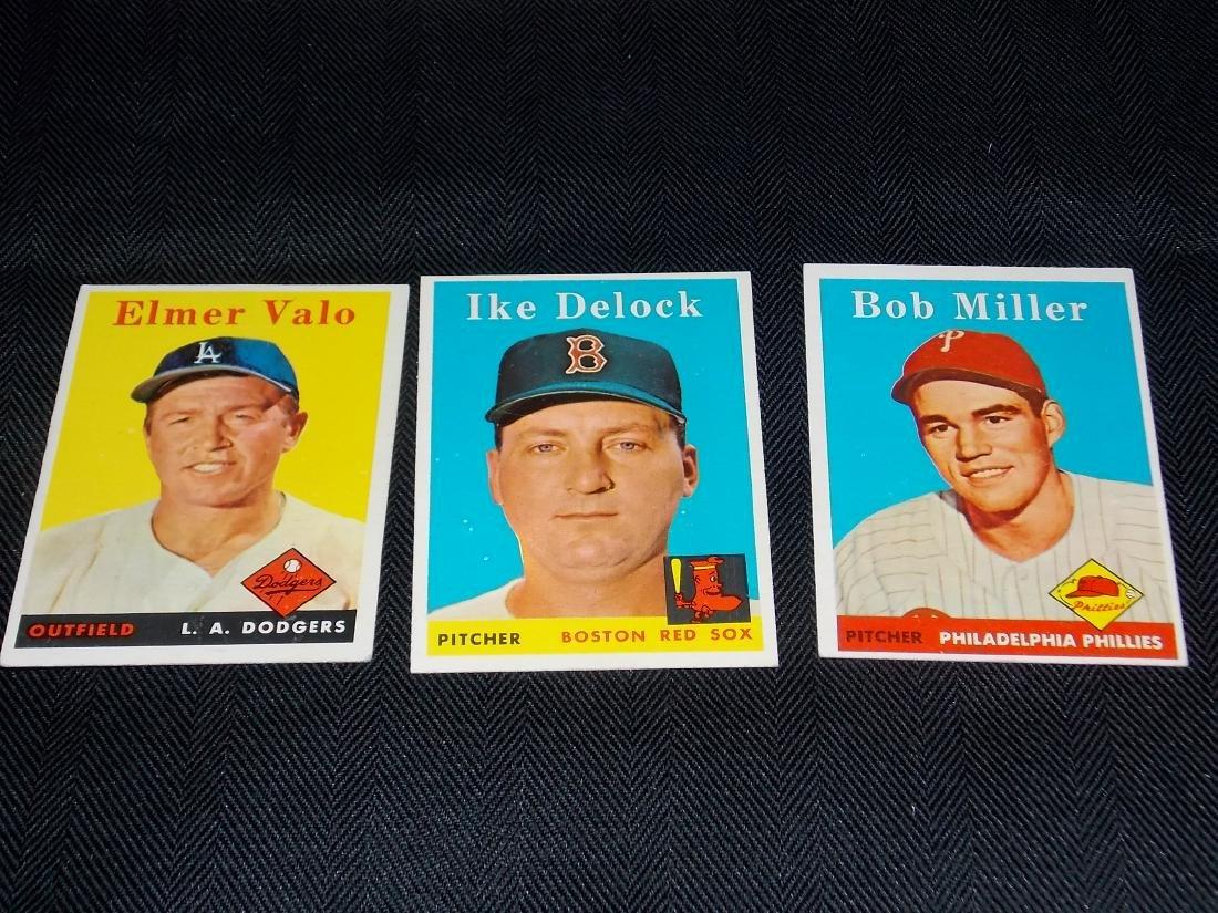 1958 Topps Baseball Lot