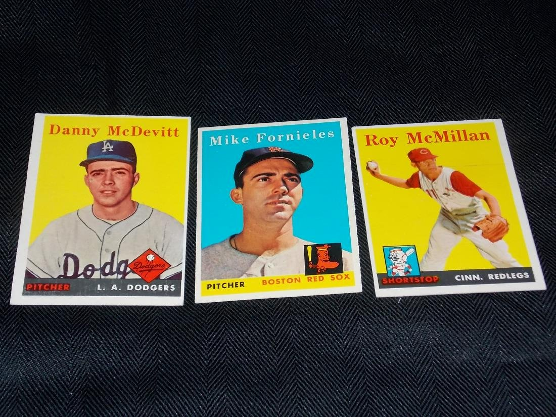 1958 Topps Baseball Lot