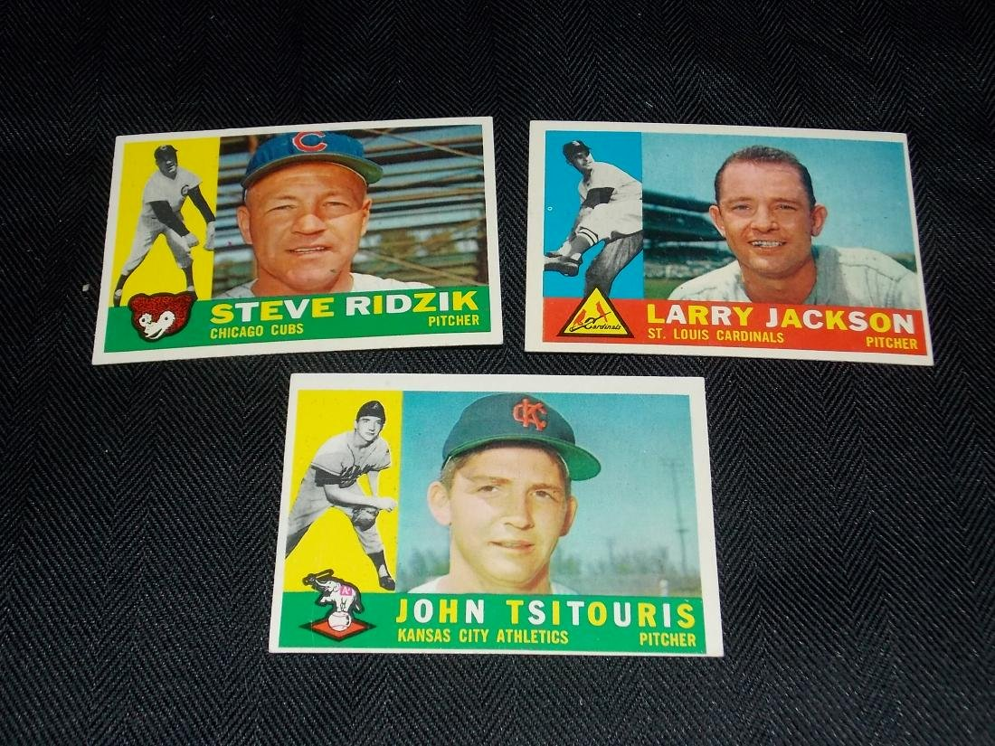 1960 Topps Baseball Card Lot