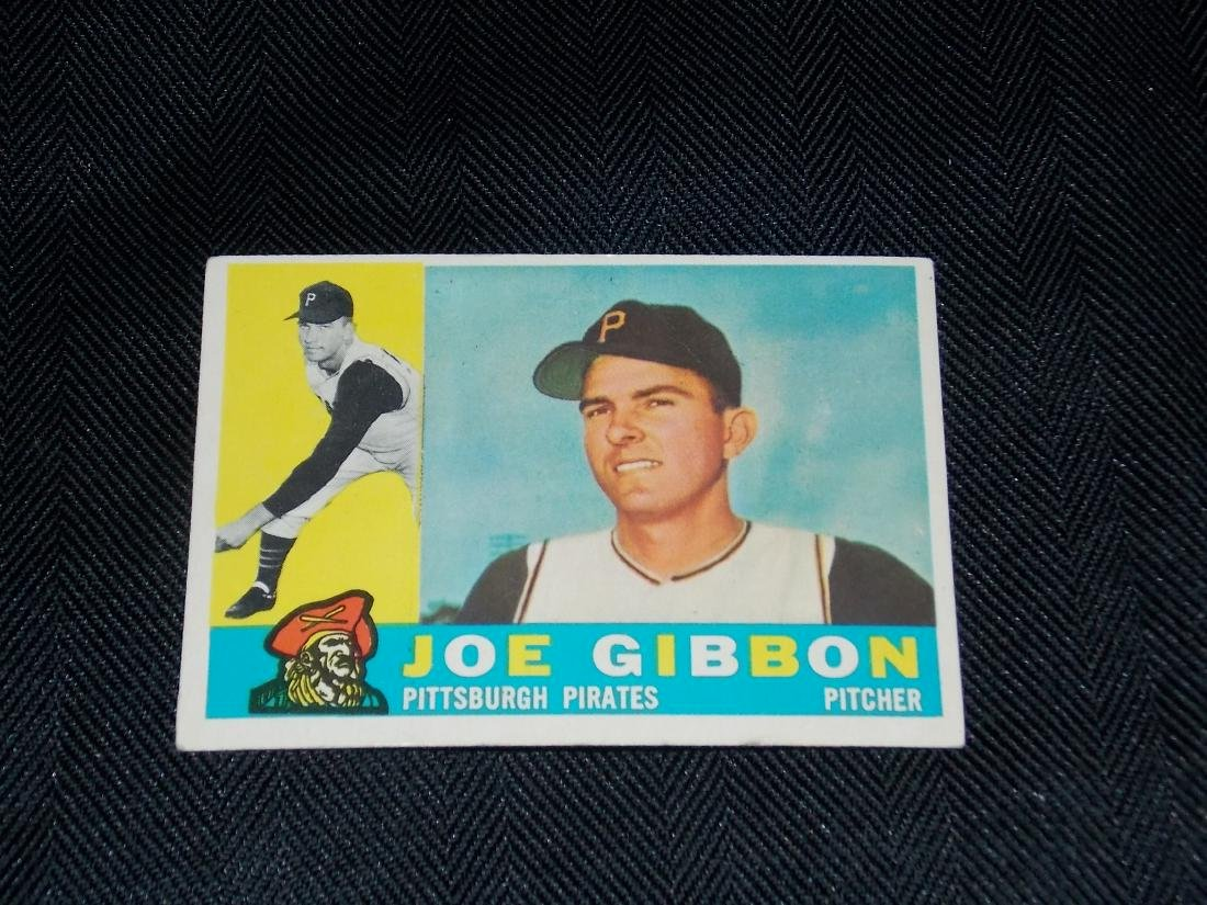 1960 Topps Joe Gibbon, Pittsburgh Pirates