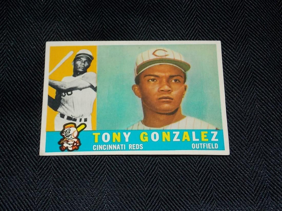 1960 Topps Tony Gonzalez, Cincinnati Reds