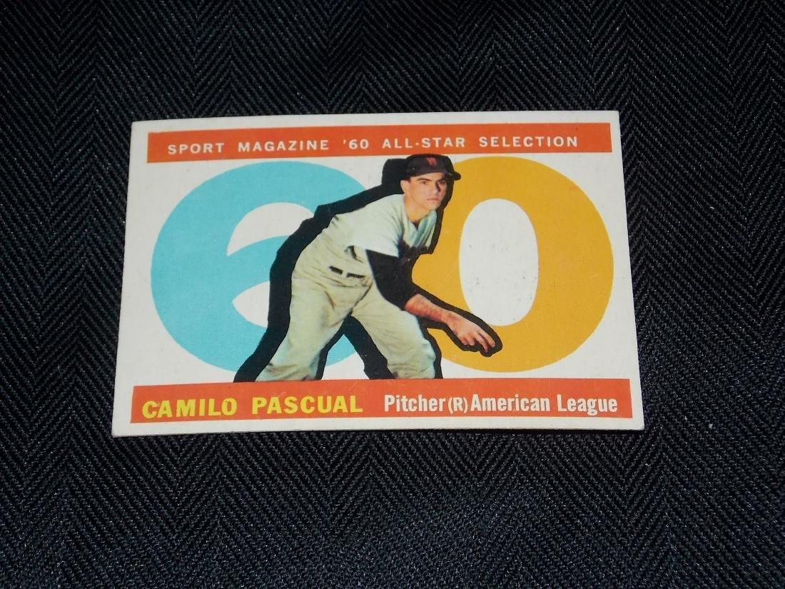 1960 Topps ALL STAR, Camilo Pascual