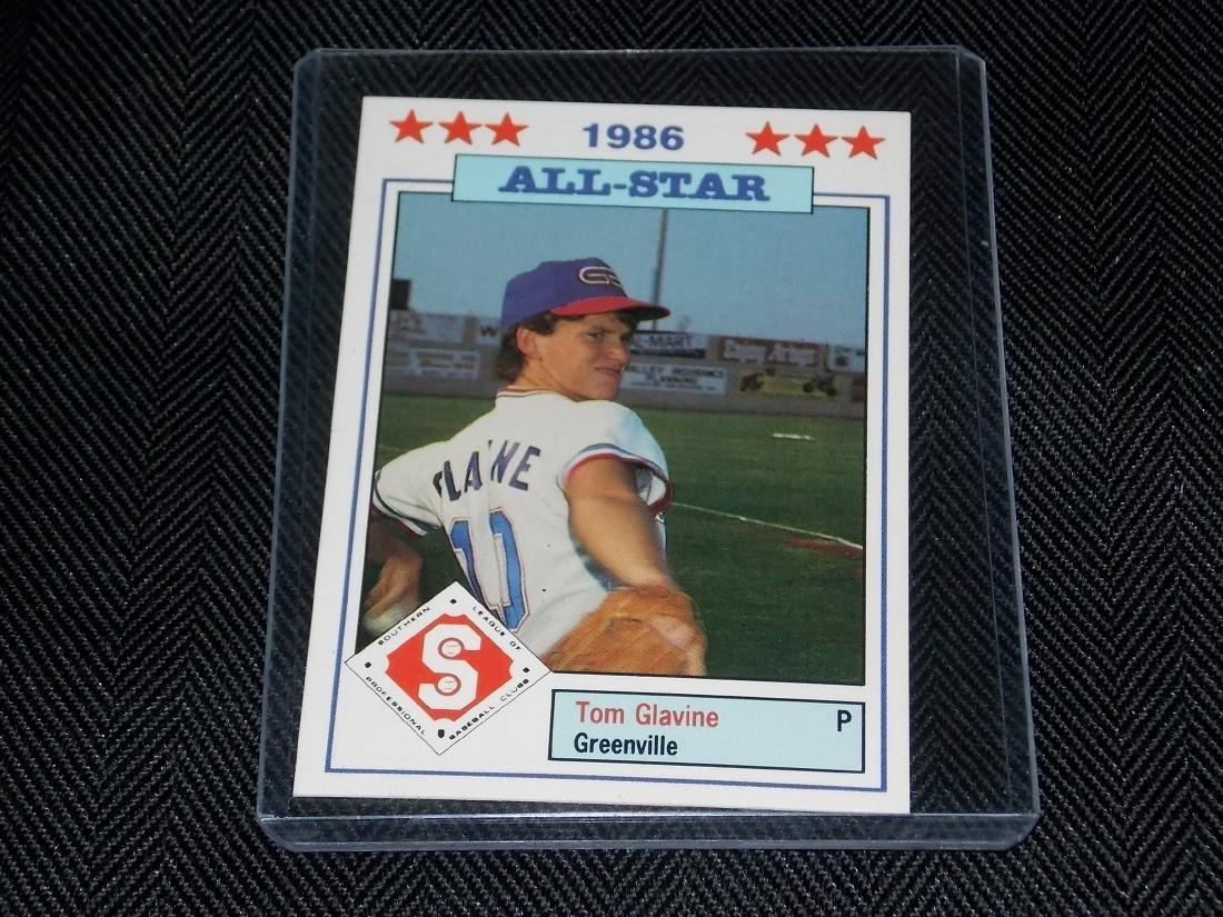 Tom Glavine, 1986 Huntsville All-Star, Southern League