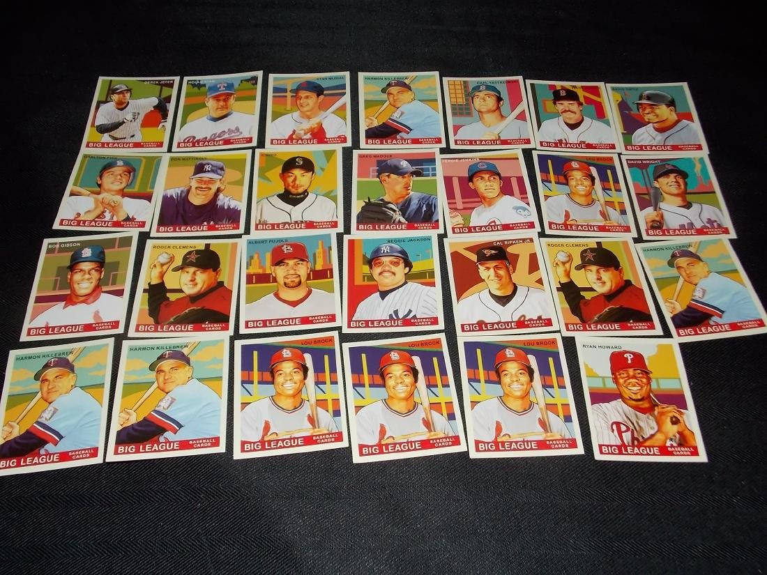 Baseball Big League HALL OF FAME Lot