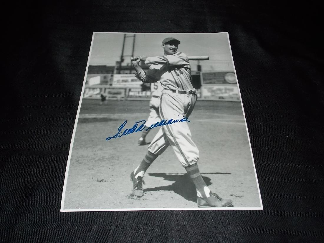 Ted Williams, Autographed, 11x14 Photo, w/COA