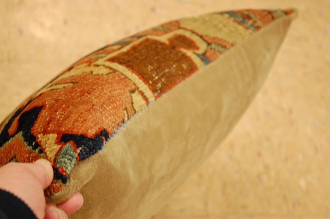 Fine Antique Rug Very Soft Wool Pillow 1.6x1.7 - 3