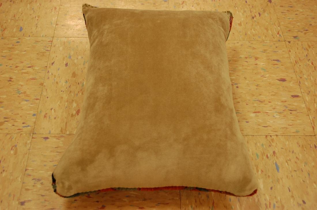 Fine Antique Rug Very Soft Wool Pillow 1.6x1.7 - 4
