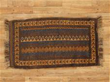 Semi-Antique Afghan Baluch Rug 2x3.4