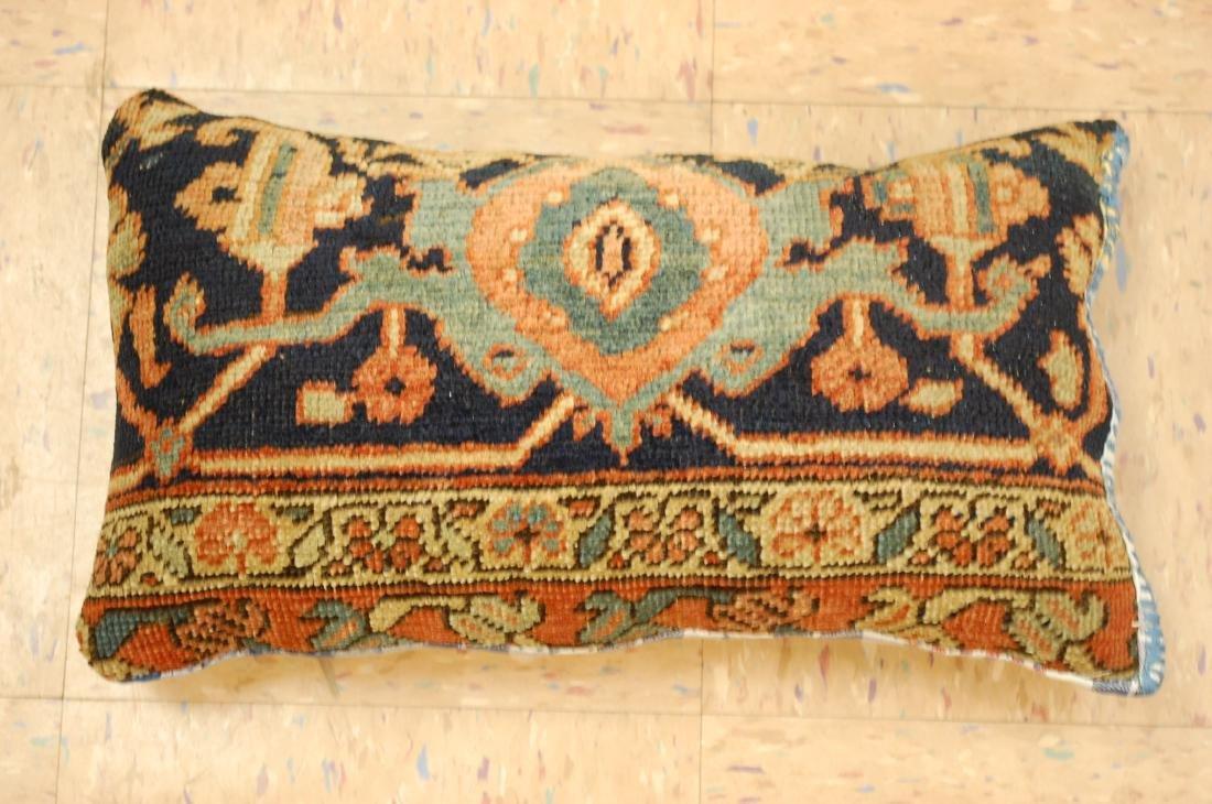 Fine Antique Rug Very Soft Wool Pillow 1.6x1.7
