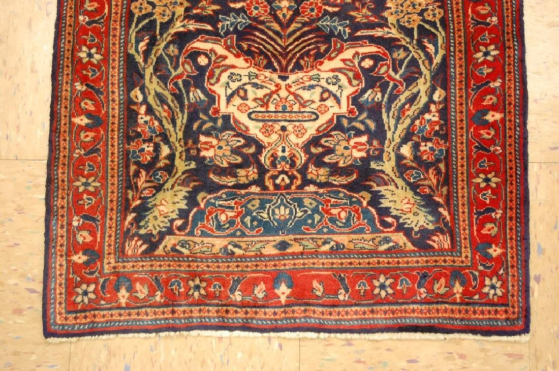 Fine Persian Sarouk Rug 2.2x3.8 - 2