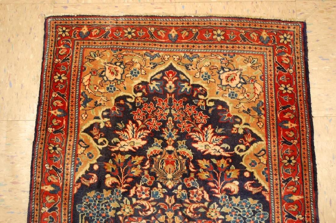 Fine Persian Sarouk Rug 2.2x3.8 - 3