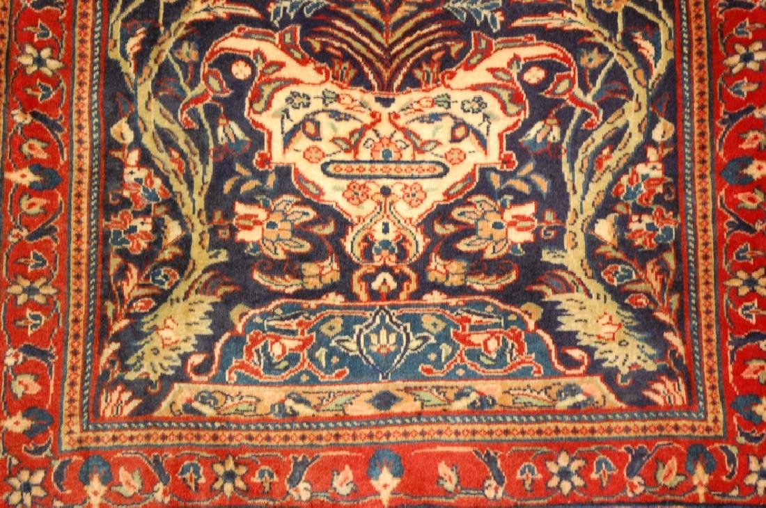 Fine Persian Sarouk Rug 2.2x3.8 - 4