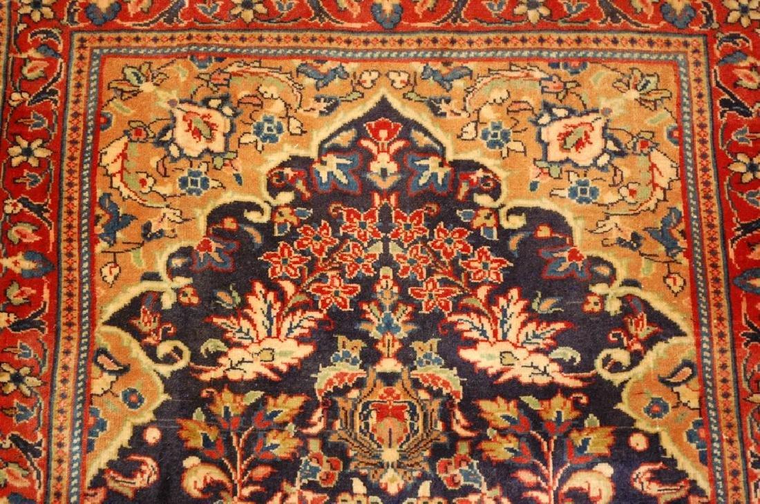 Fine Persian Sarouk Rug 2.2x3.8 - 5