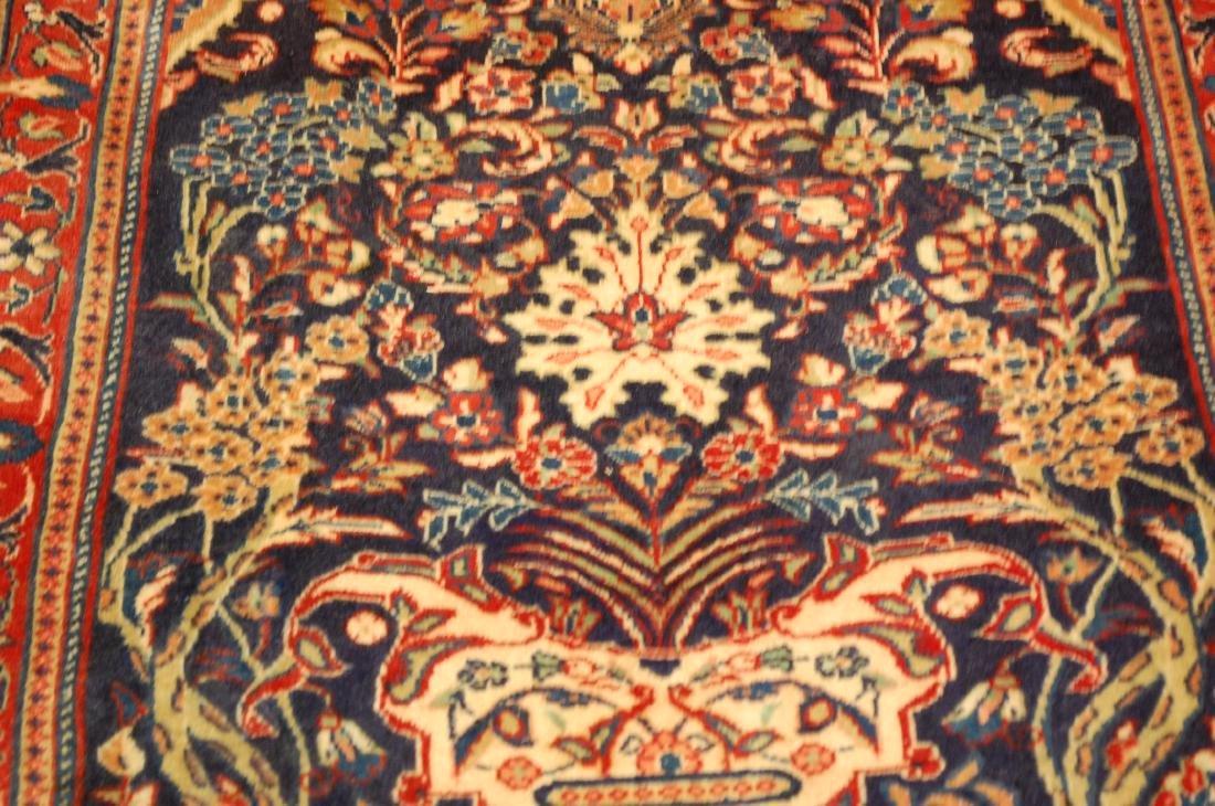 Fine Persian Sarouk Rug 2.2x3.8 - 6