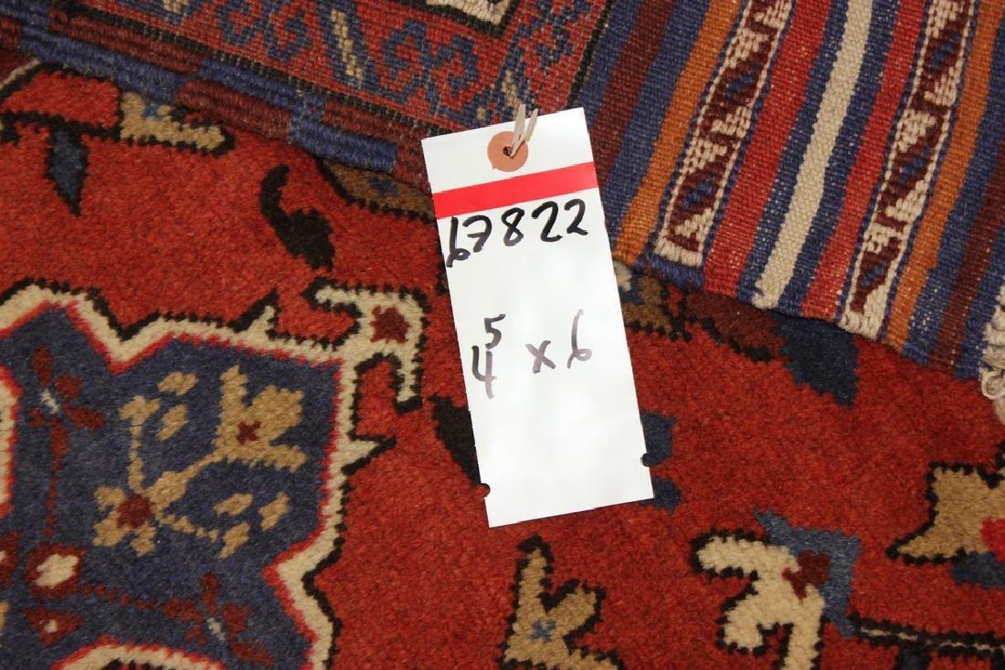 Semi-Antique Afghan Baluch Rug 4.5x6 - 2