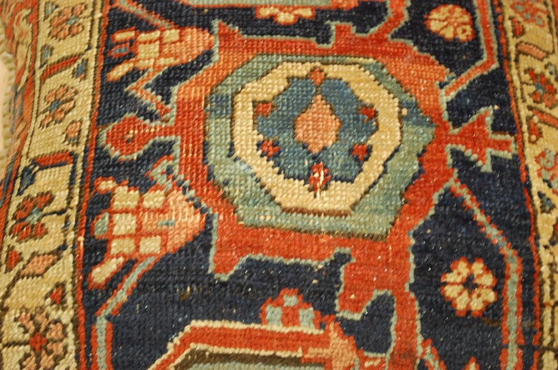 Fine Antique Rug Very Soft Wool Pillow 1.6x1.7 - 2