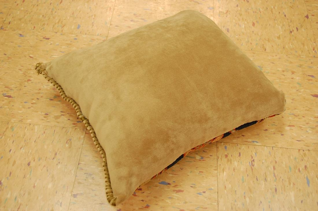 Fine Antique Rug Very Soft Wool Pillow 1.6x1.7 - 4