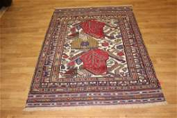 Semi-Antique Afghan Baluch Rug 4.3x6