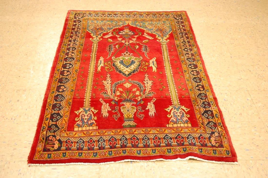 Master Piece Persian Sarouk Rug 3.5x6