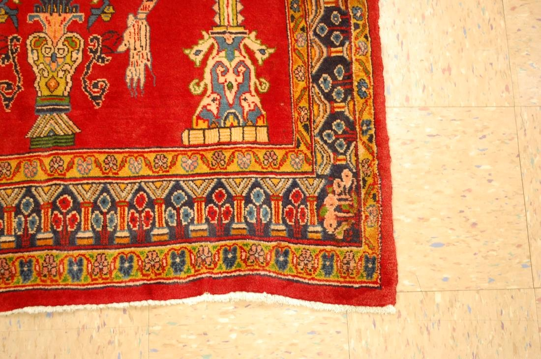 Master Piece Persian Sarouk Rug 3.5x6 - 2