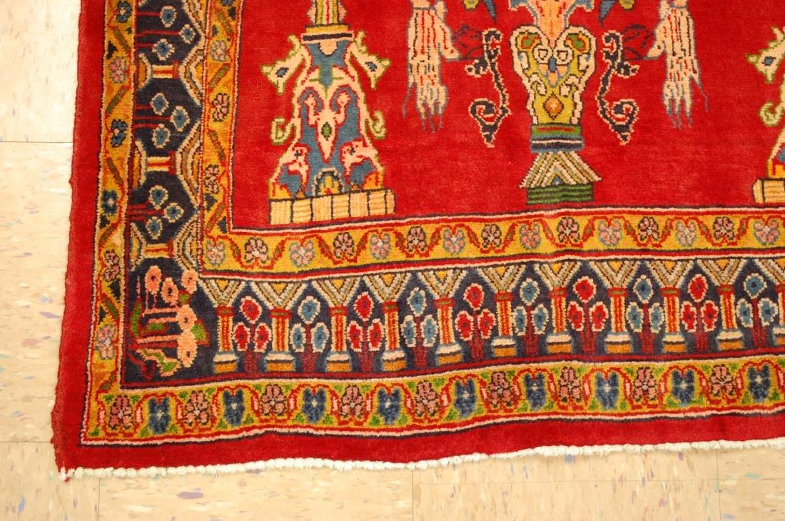 Master Piece Persian Sarouk Rug 3.5x6 - 3