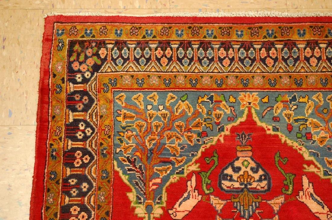 Master Piece Persian Sarouk Rug 3.5x6 - 4