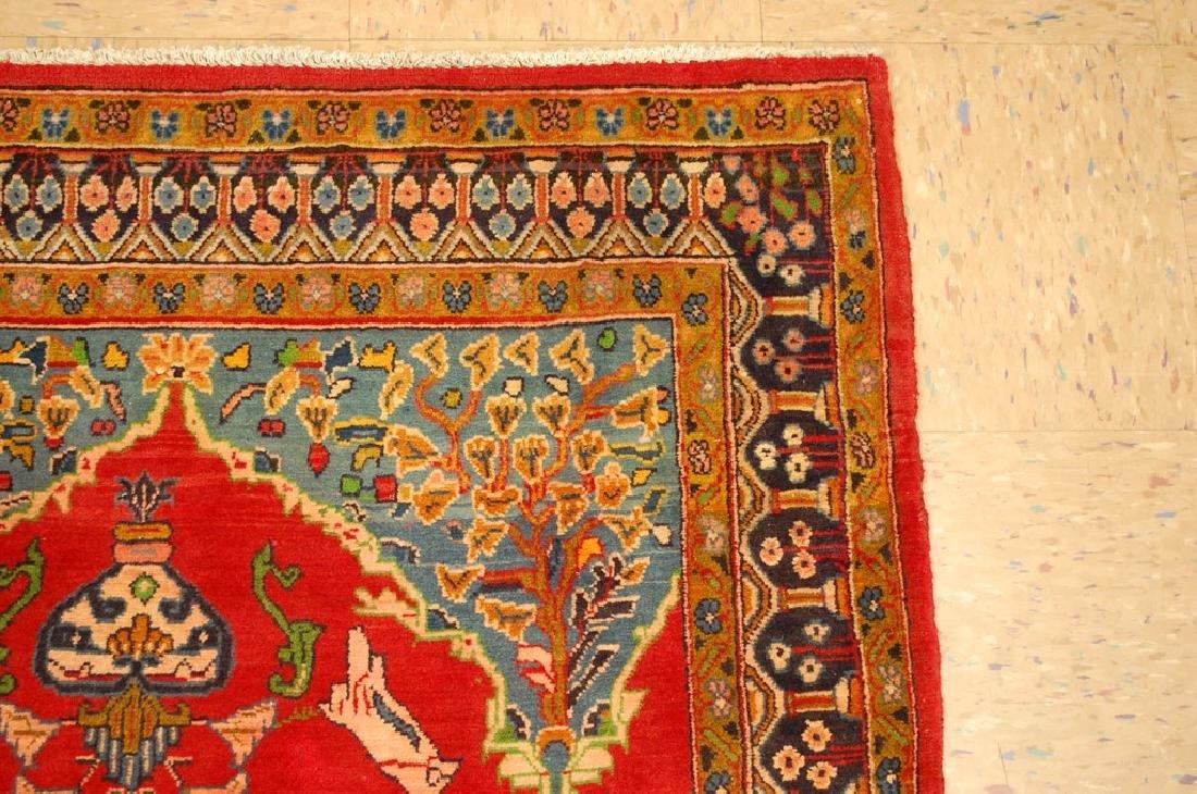 Master Piece Persian Sarouk Rug 3.5x6 - 5