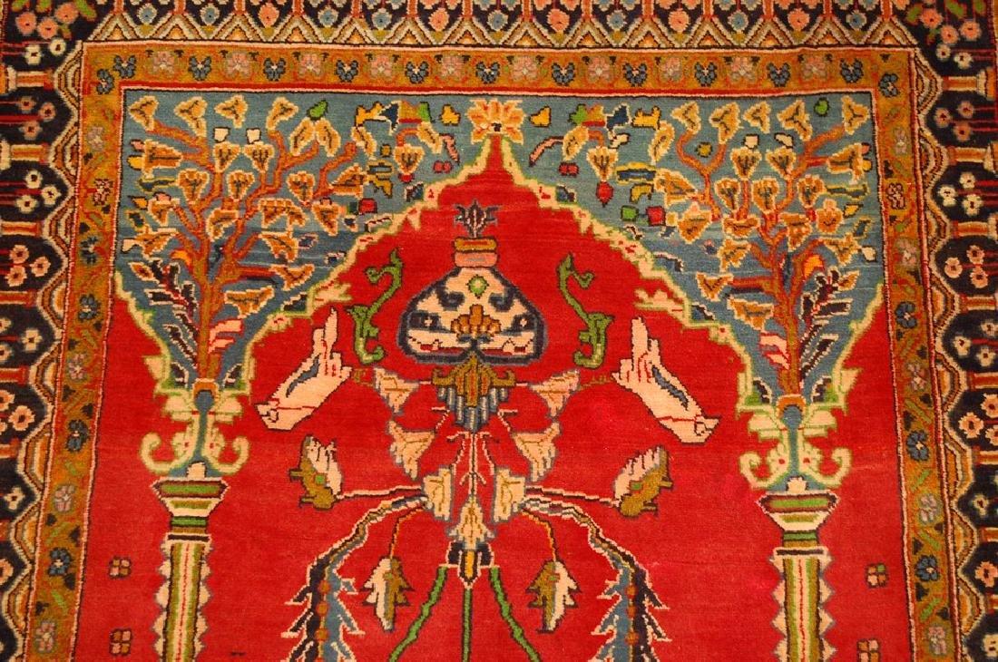 Master Piece Persian Sarouk Rug 3.5x6 - 6