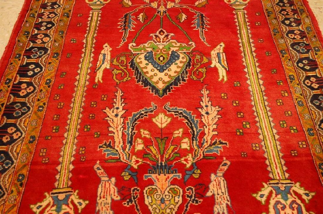 Master Piece Persian Sarouk Rug 3.5x6 - 7